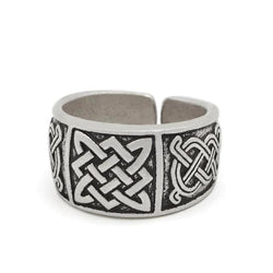 Norse Viking ring - Antique silver - viking ring