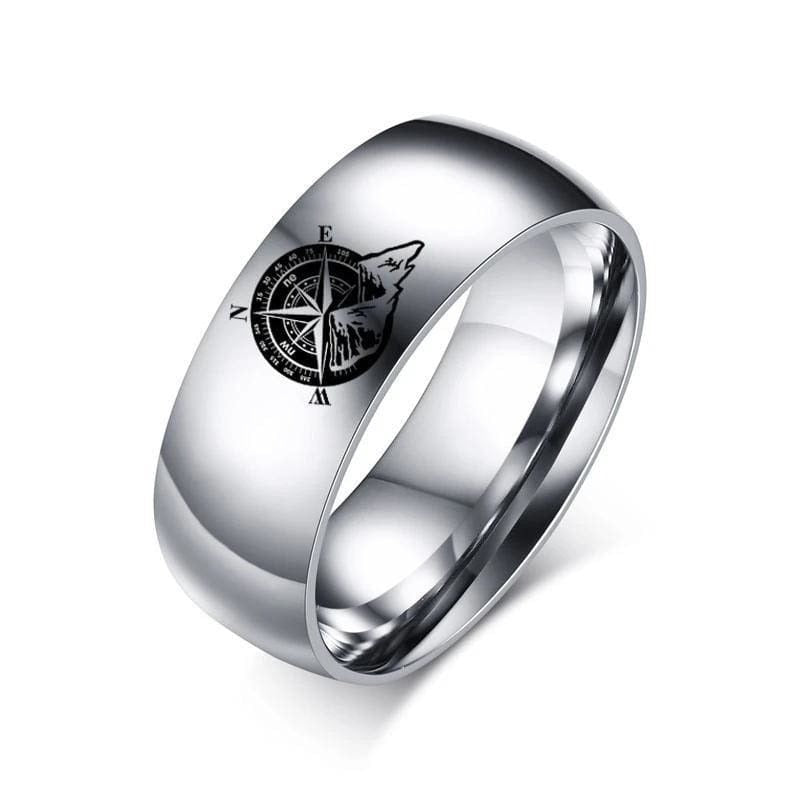 North Star Compass Ring - 100007323
