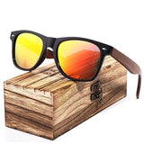 NORTH SUNGLASSES - WOODEN SUNGLASSES - Orange Polarized / Original - sunglasses