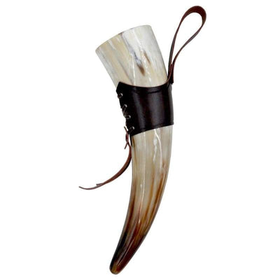 ROYAL VIKING DRINKING HORN - withleatherholder / 300ml-350ml - 100003290