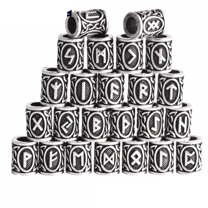 Viking Beads for Beards and Necklace