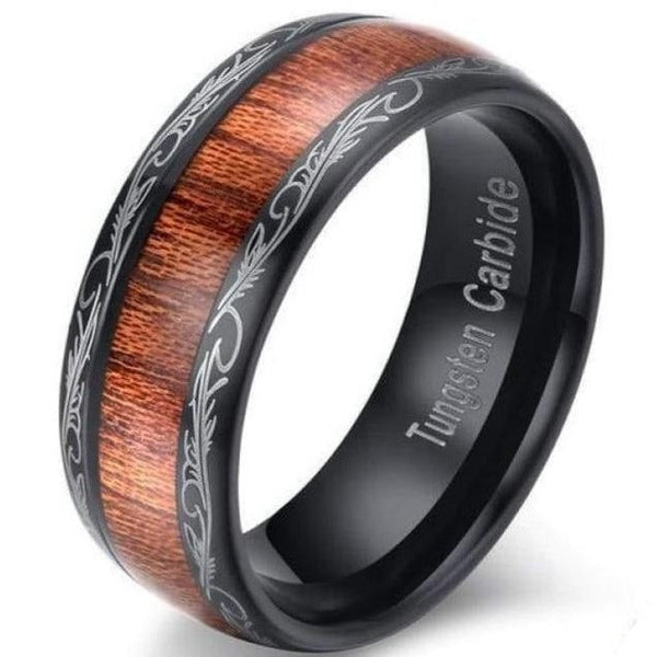 The Trelleborg Viking Ring - wood ring