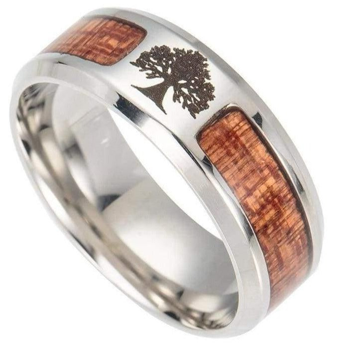 Tree of Life Ring - viking ring