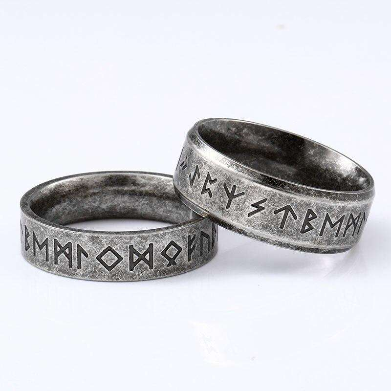 unisex viking rune ring