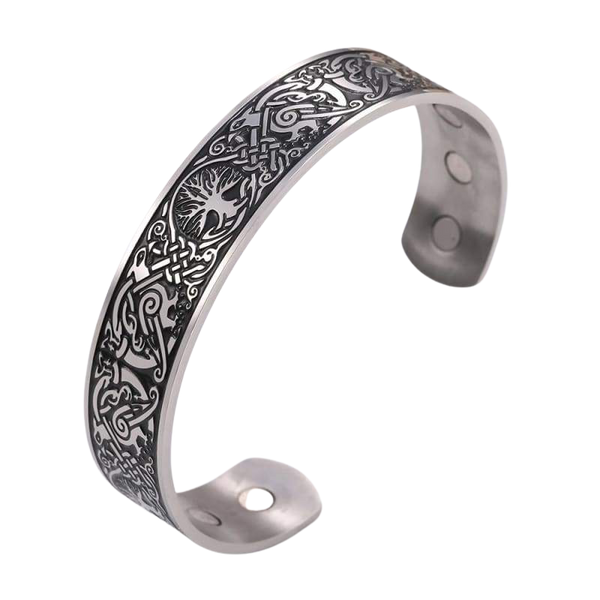 VIKING ARM RING - TREE OF LIFE BANGLE - 200000146