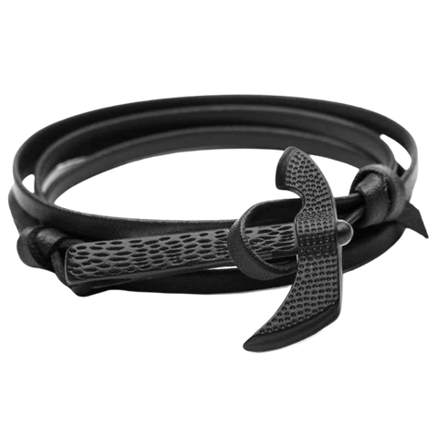 VIKING AXE BRACELET - Black - viking bracelet