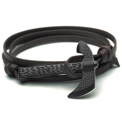 VIKING AXE BRACELET - Cafe - viking bracelet