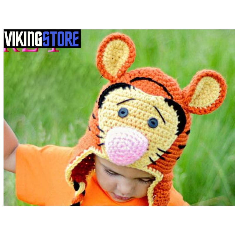 VIKING BEANIES - CARTOON - Color as picture 24 / S - 32701