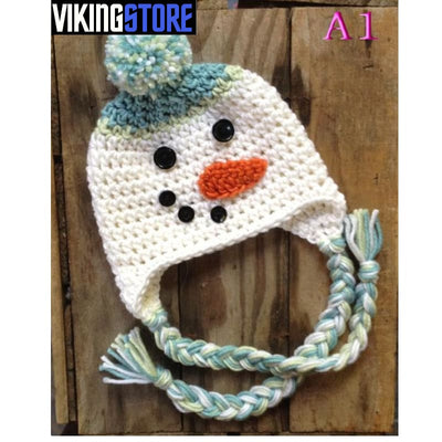 VIKING BEANIES - CARTOON - Color as picture 30 / S - 32701