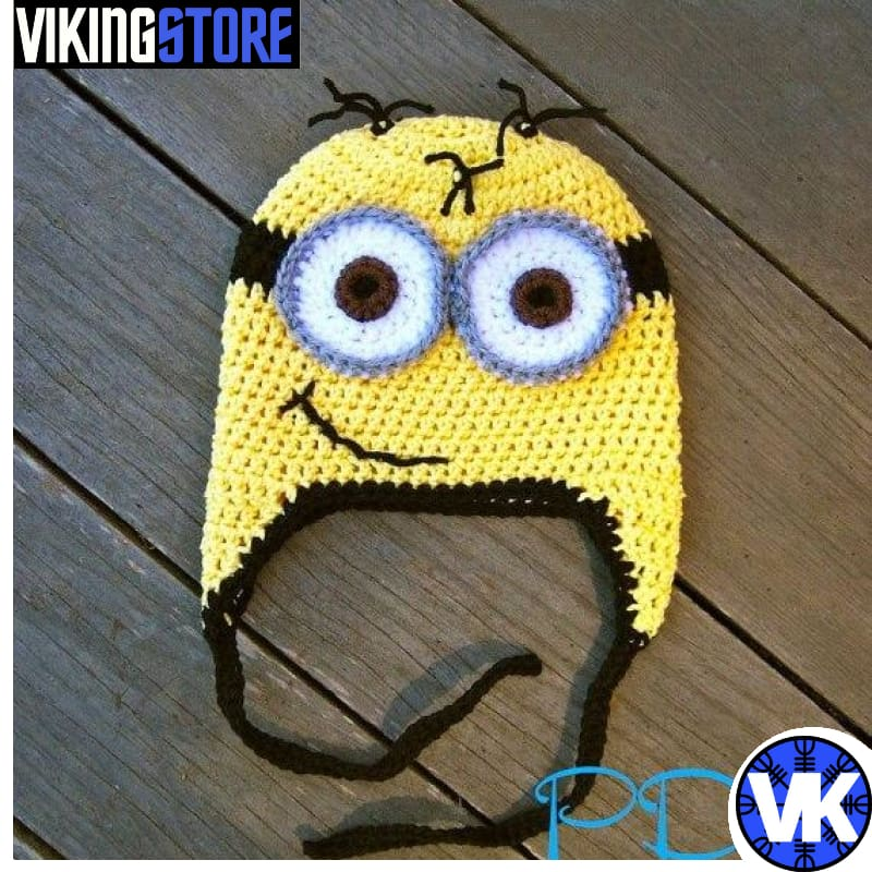 VIKING BEANIES - CARTOON - Color as picture 8 / S - 32701