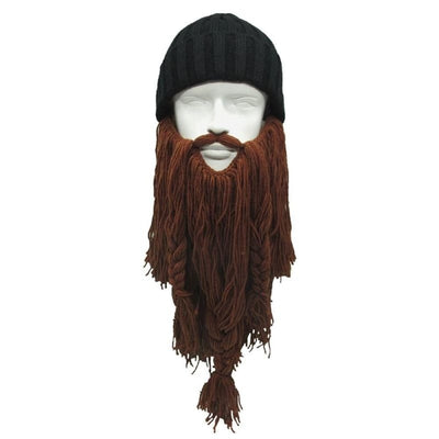 VIKING BEANIES - THE BARBARIAN VAGABOND - coffee - 200000447
