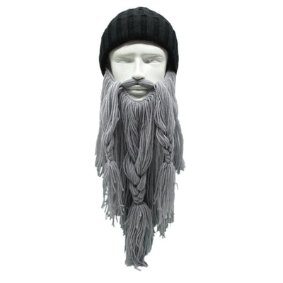 VIKING BEANIES - THE BARBARIAN VAGABOND - dark gray - 200000447