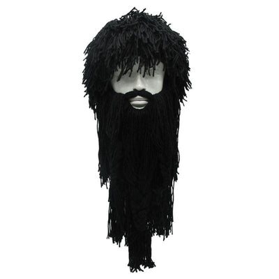 VIKING BEANIES - WIG WITH REMOVABLE FALSE BEARD - 200000447