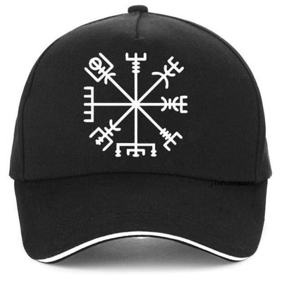 VIKING CAP - VEGVISIR - Black - 200000403