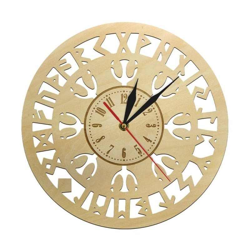 VIKING CLOCK - COMPASS SYMBOL - 152805