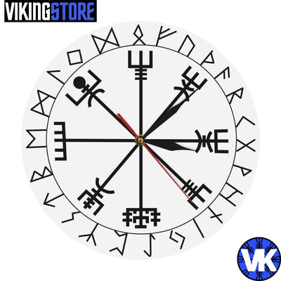 VIKING CLOCK - VEGVISIR - White - 152805