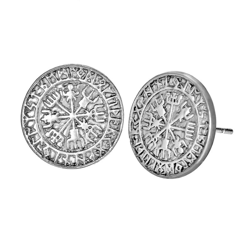 VIKING EARRINGS - ICELAND - Antique Silver Plated - 200000171