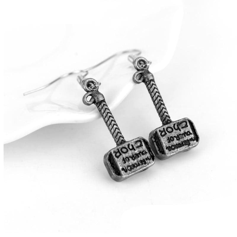 VIKING EARRINGS - THOR HAMMER - earrings