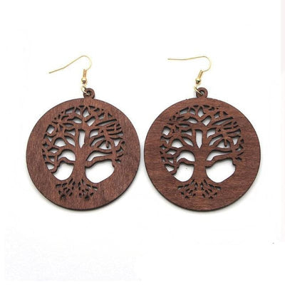 VIKING EARRINGS - YGGDRASIL - jewelry