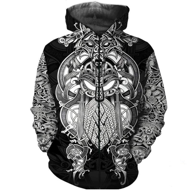 VIKING HOODIE - BALDER NEW FASHION 2019