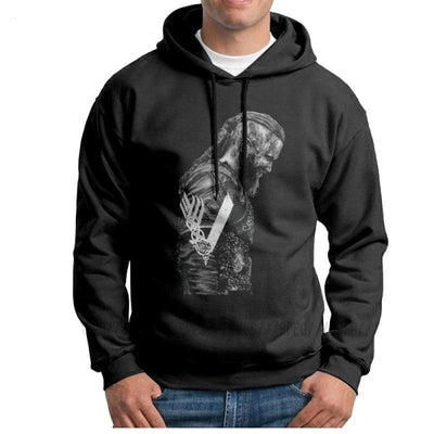 VIKING HOODIE - HIGH QUALITY KING RAGNAR LOTHBROK - 200000344