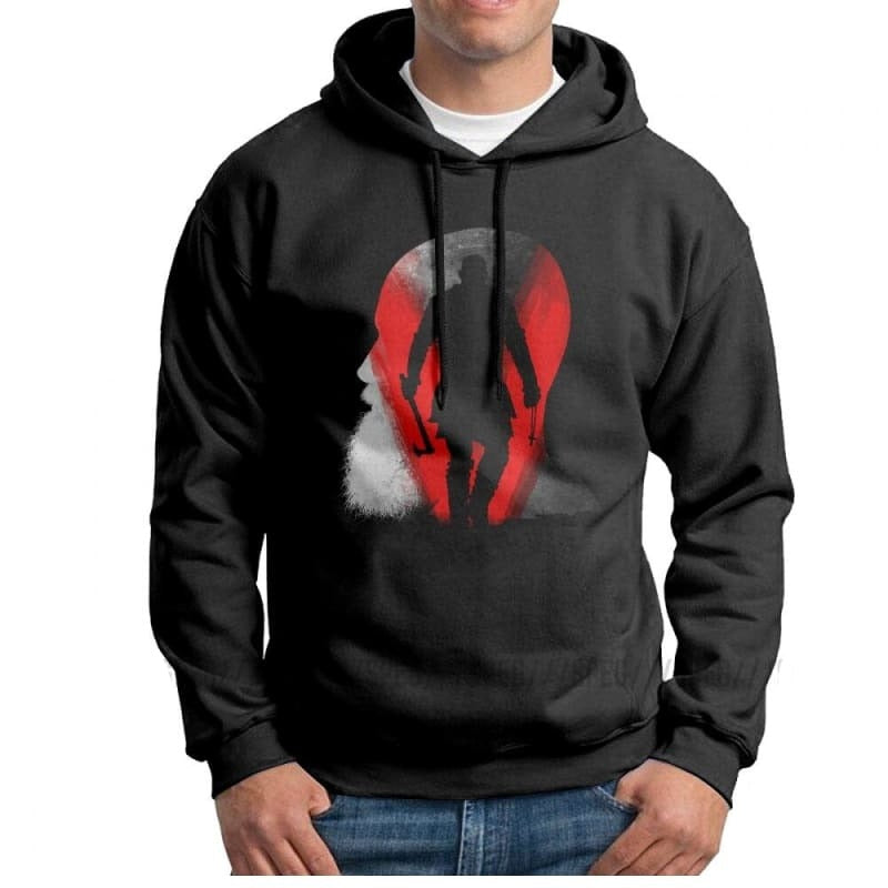 VIKING HOODIE - HONIR FOR MEN - Black / S - 200000344