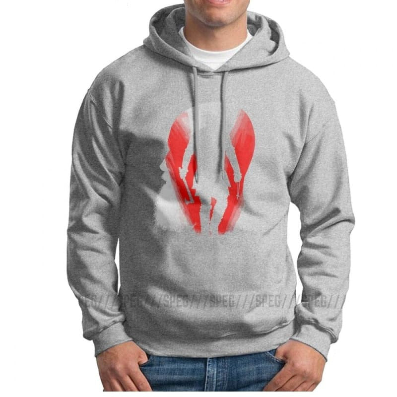 VIKING HOODIE - HONIR FOR MEN - Gray / S - 200000344
