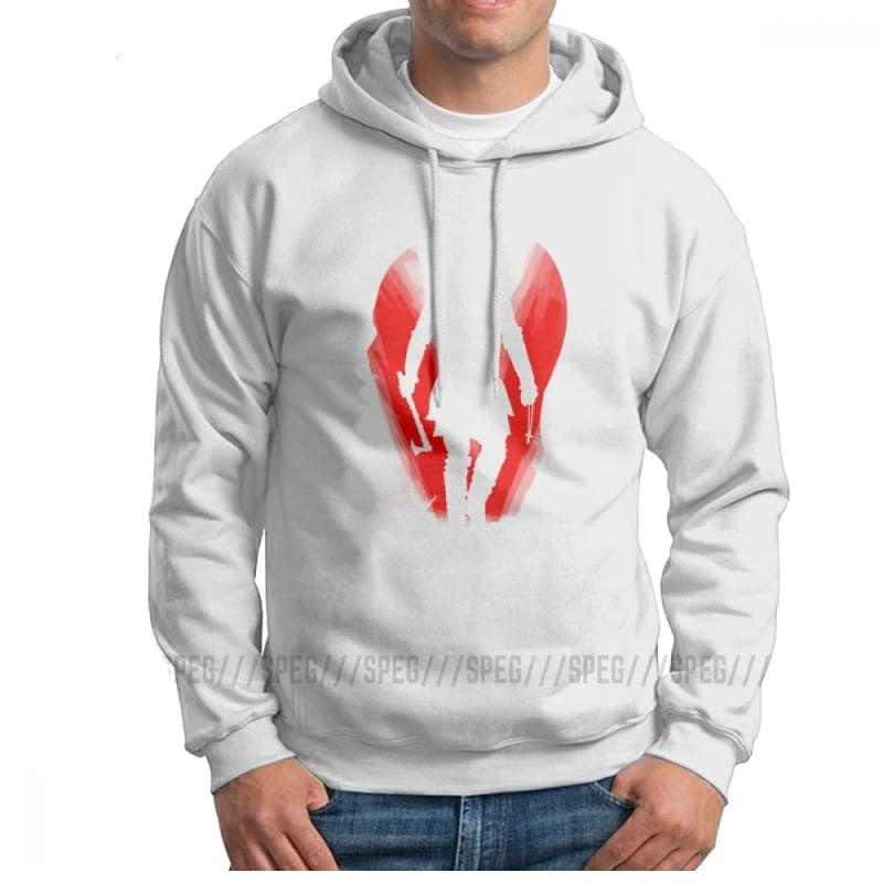 VIKING HOODIE - HONIR FOR MEN - White / S - 200000344