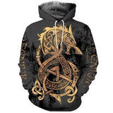 VIKING HOODIE - SIGYN NEW FASHION - Hoodies / XXXS - 200000344