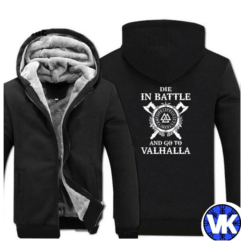VIKING JACKET - VALHALLA - black / M - 200000344