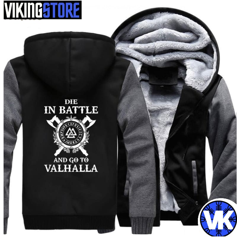 VIKING JACKET - VALHALLA - dark gray black / M - 200000344