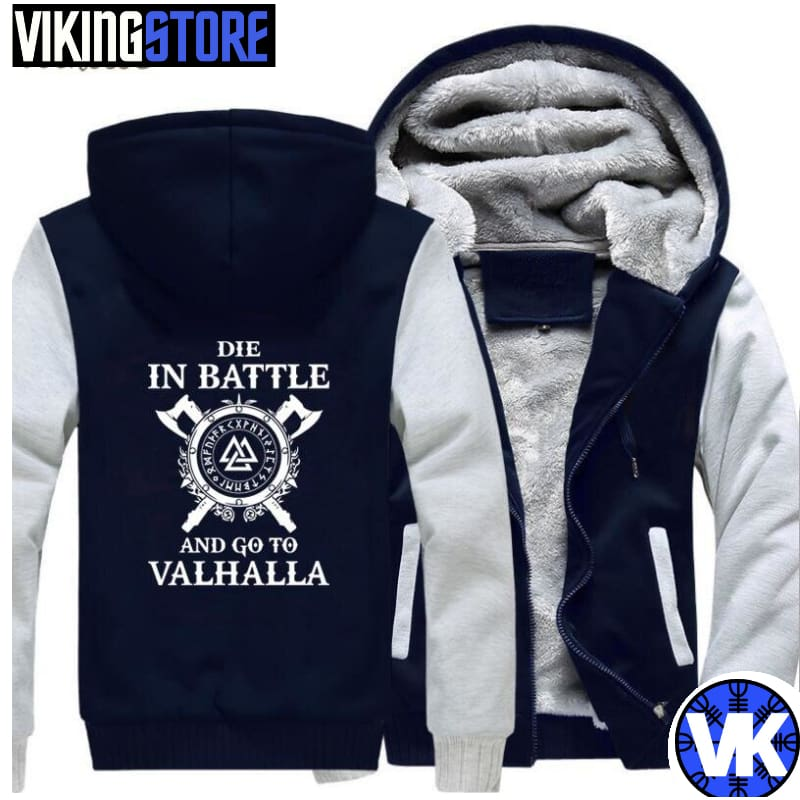 VIKING JACKET - VALHALLA - gray dark blue / M - 200000344