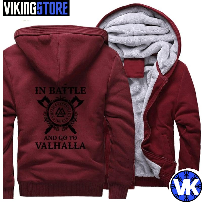 VIKING JACKET - VALHALLA - wine red 1 / M - 200000344