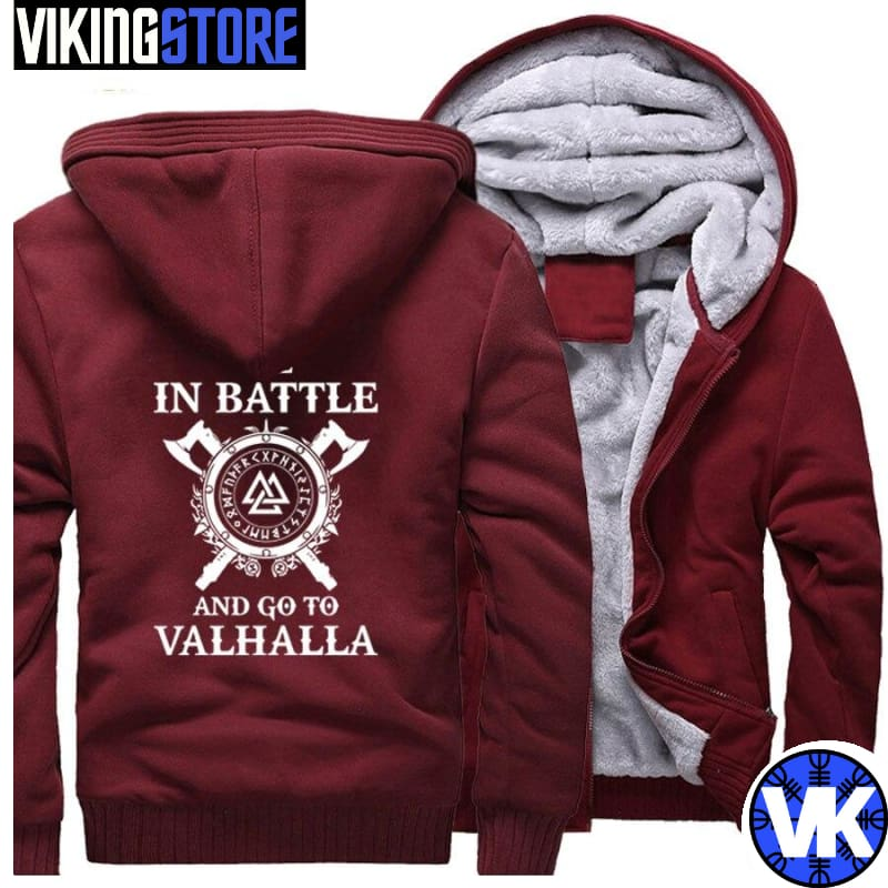 VIKING JACKET - VALHALLA - wine red / M - 200000344