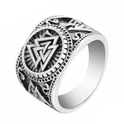Viking Jewelry norse rings - Valknut - viking ring