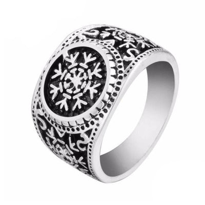 Viking Jewelry norse rings - Vegvisir - viking ring