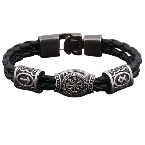 viking-leather-bracelet