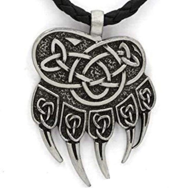 VIKING NECKLACE - BEAR CLAW - viking necklace