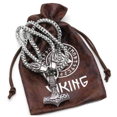 VIKING NECKLACE - NORSE ANIMALS - Thor / 60cm - viking necklace