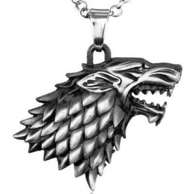VIKING NECKLACE - NORSE WOLF - wolf necklace