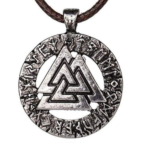 VIKING NECKLACE - VALKNUT - viking necklace
