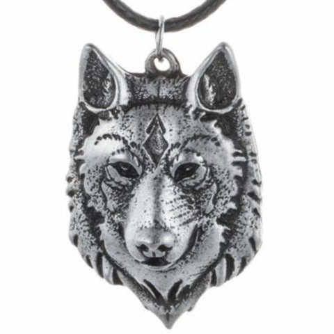 VIKING NECKLACE - WOLF - wolf necklace