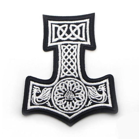 VIKING PATCH - THOR HAMMER - 100005735