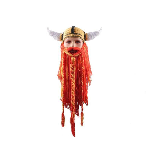 VIKING RED BEARD BEANIES - 200000447