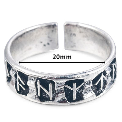 VIKING RING - ALPHABET - 100007323