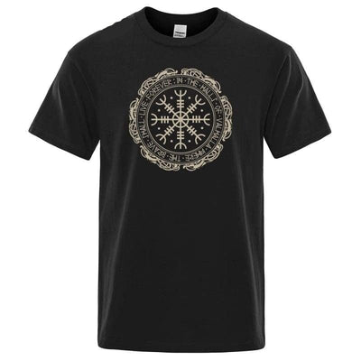 VIKING SHIRT - VEGVISIR - BLACK / S - 200000783
