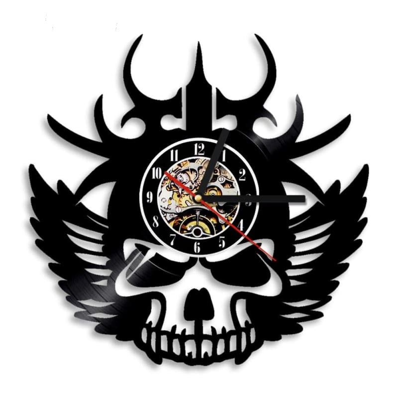 VIKING SKULL CLOCK - 152805