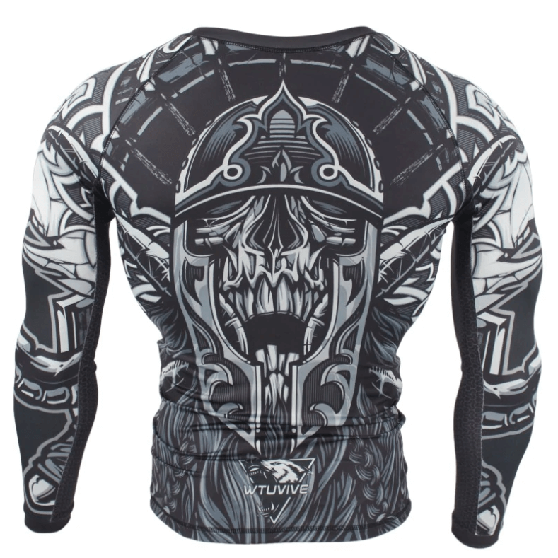 Viking Fight (Long-Sleeve Gym Shirt)