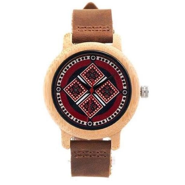 VIKING WATCH - BAMBOO - North Square - Montres femmes