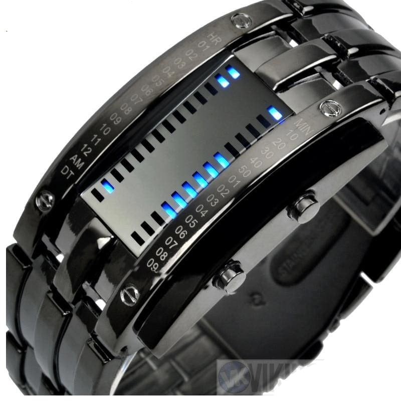 VIKING WATCH - BJORN - Black Large - watch